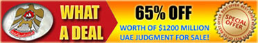 UAE judgment for sale