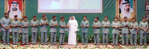 Saif-bin-Zayed-hands-Major-General-Hamid-Al-Hudaidi-the-Best-Security-Zone-Award